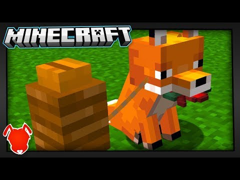best-idea-to-tame-minecraft-foxes?!