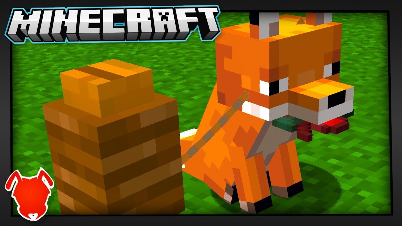 Best Idea to TAME Minecraft Foxes?!
