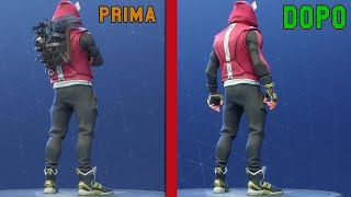 HOW to REMOVE THE ZAINO ON FORTNITE [BUG SEASON 5] FORTNITE ITA