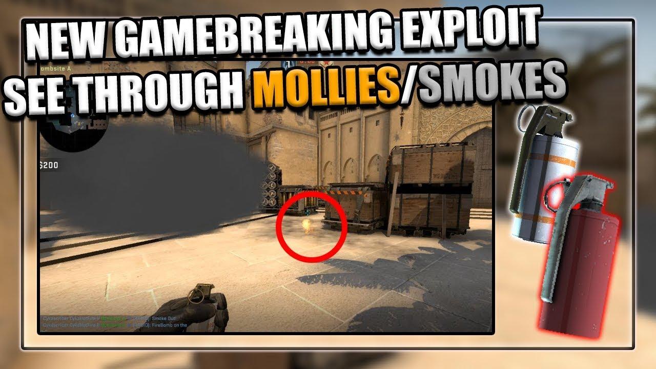 NEW GAMEBREAKING SMOKE/MOLOTOV EXPLOIT (CSGO) - Wiofy Blog