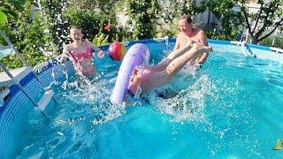 Приколы в бассейне Как мы смеялись! 21.06.19