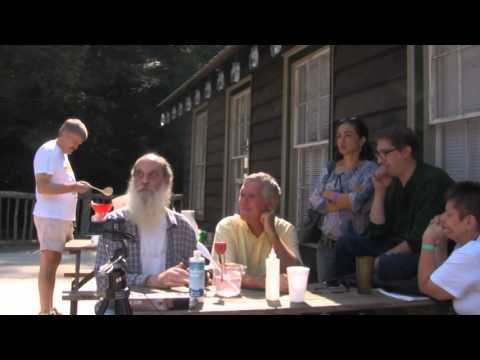 Don Nance teaches ORMUS Wet Method harvesting at Enota