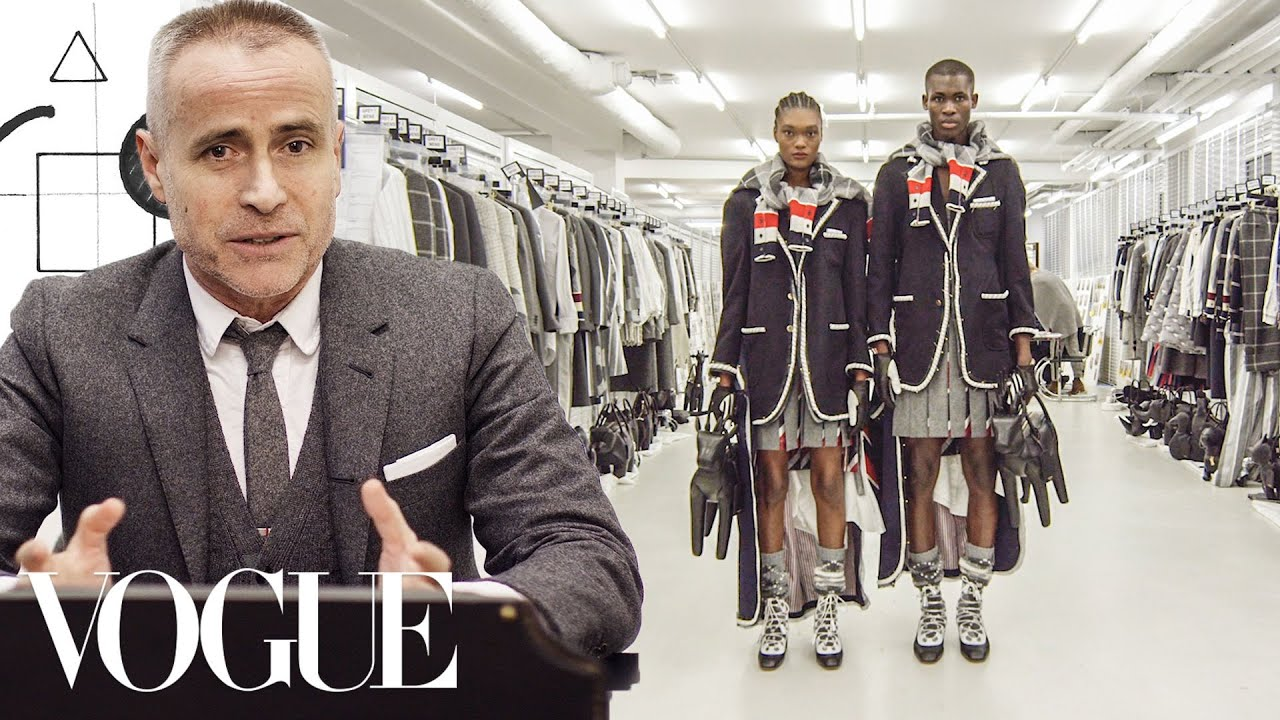 Thom Browne's Entire Design Process, From Sketch to Dress | Vogue
