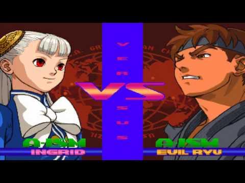 Street Fighter Alpha 3 MAX: Ingrid Playthough