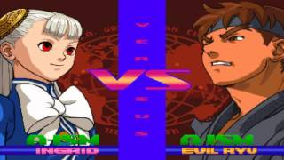 Street Fighter Alpha 3 MAX: Ingrid Playthough