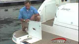 Cruisers Yachts 390 as tested by BoatTEST.com