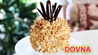 Самый простой бисквитный новогодний торт ананас рецепт от Dovna Enterprises