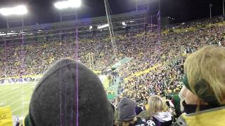 Lambeau Field: Roll Out The Barrel Verse 2