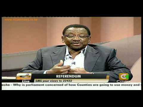 Cheche Interview: The Referendum Debate with Kindiki Kithure and James Orengo Pt 2