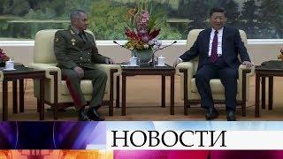 Россия и Китай договорились активизировать работу по линии военного сотрудничества.