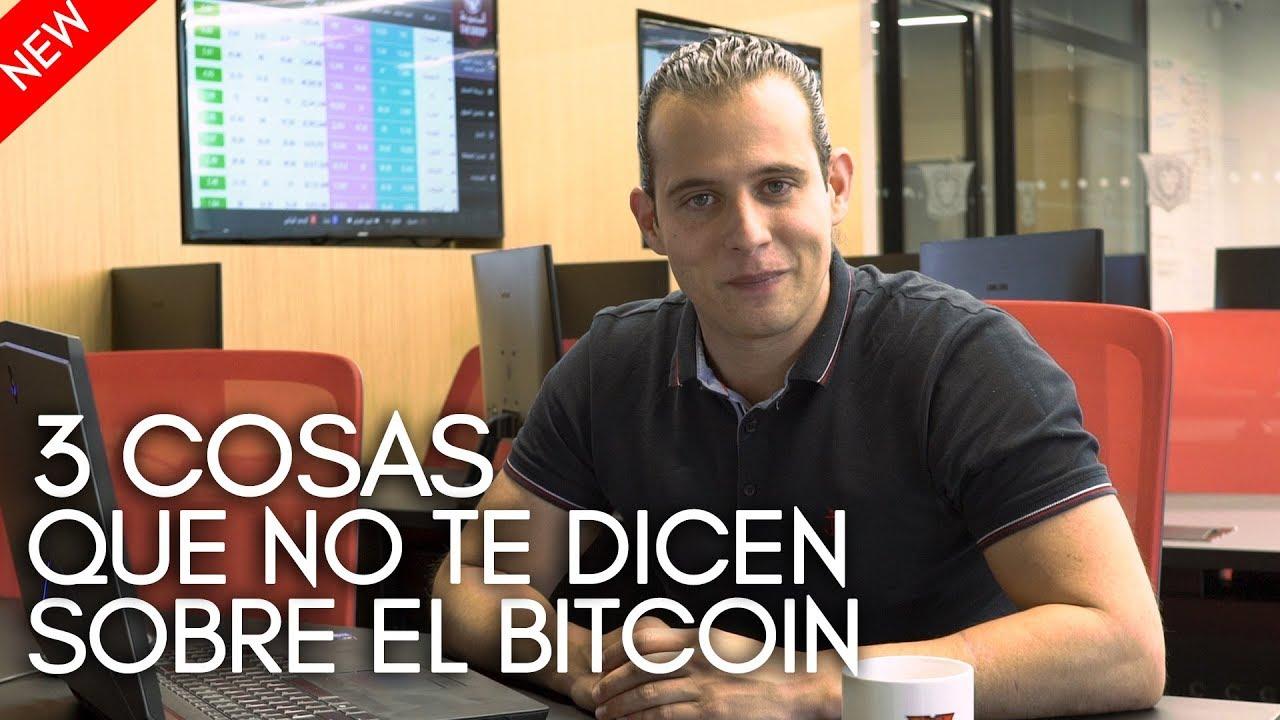 3 cosas que no te dicen sobre el Bitcoin