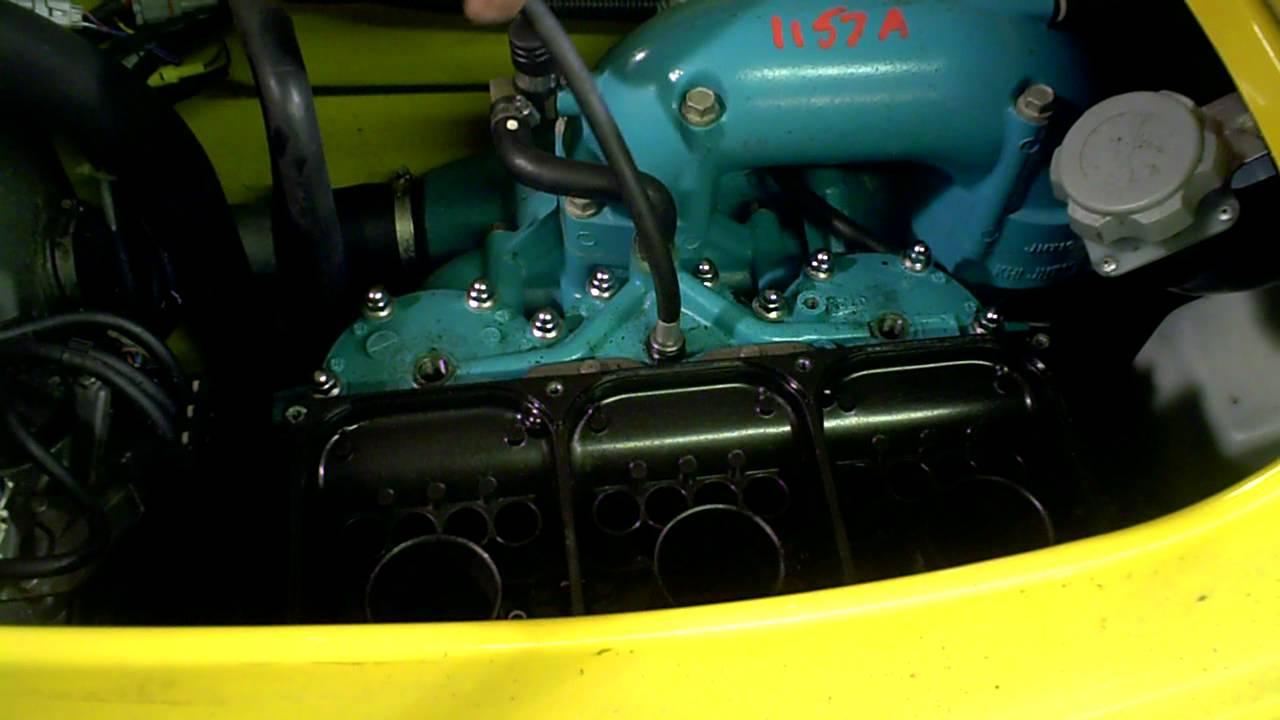 lot 1157a 1998 kawasaki zxi 1100 engine compression test - youtube