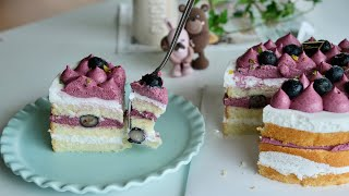 아이싱없는 블루베리 케이크 만들기 쉽게쉽게! Home …
