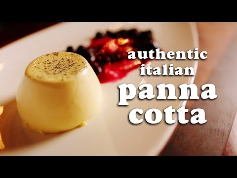 Panna Cotta - Original authentic Italian recipe of this show stopper of a dessert! Panna Cotta