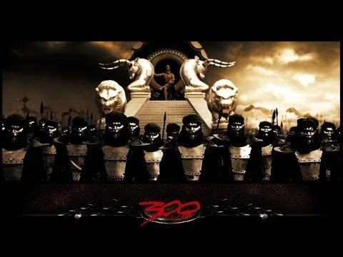 300: The Hot Gates REMIX  Returns a King  Leonidas Mashup