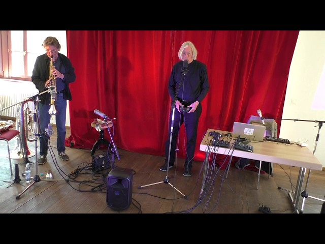 Udo Schindler und Jaap Blonk in Herrsching - Improvisation 5