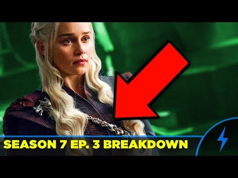 Game Of Thrones Season 7 Episode 3 BREAKDOWN & EASTER EGGS Queen's Justice - Olenna Ending Explained