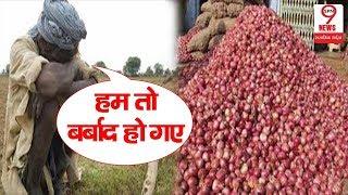 प्याज के दाम गिरने से किसानों को लगा बड़ा झटका | Onion Prices Fall | SPN9News