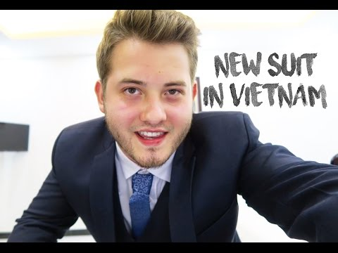 CUSTOM MADE SUIT IN VIETNAM
