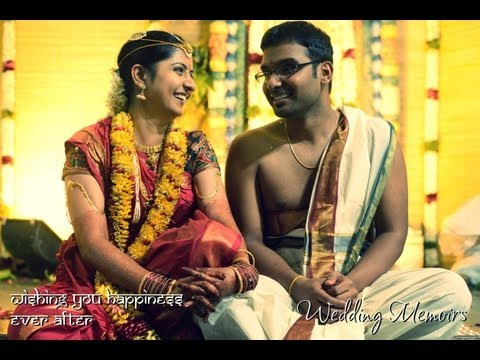 GREAT INDIAN TRADITIONAL SOUTH-INDIAN CINEMATIC WEDDING MUSIC VIDEO(HD) - Dinesh + Gayathri