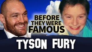 Tyson Fury | Before They Were Famous | The Gypsy King Biography