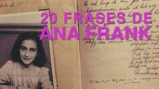 20 Frases de Ana Frank | Un diario contra la guerra 📕