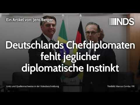 Deutschlands Chefdiplomaten fehlt jeglicher diplomatische Instinkt | Jens Berger