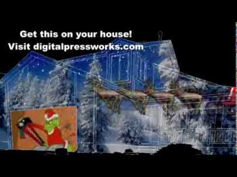 Mr Christmas Panoramic Projector