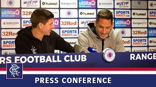 PRESS CONFERENCE | Gerrard and Katic | 8 Aug 2018