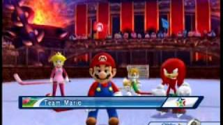 Mario & Sonic at the Olympic Winter Games - Dream Ice Hockey