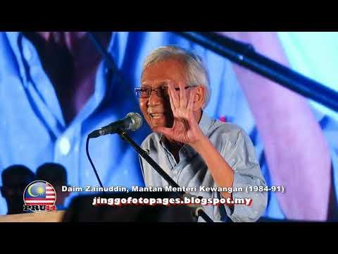 20180506 Daim Zainuddin @ Tsunami Rakyat
