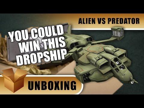 Alien Vs Predator Unboxing: UD-4L Cheyenne Dropship