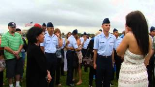 Air Force graduation marriage proposal