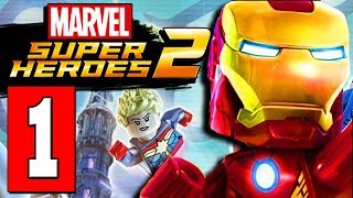 LEGO MARVEL SUPER HEROES 2 Gameplay Walkthrough Part 1 (FULL GAME) Lets Play Playthrough