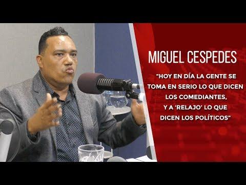 Entrevista Al Comediante Miguel Cespede En El Rumbo De La Tarde