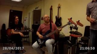 Как проходят уроки игры а гитаре в нашей школе. Занятия ансамбля. Ритмическая подготовка. Часть 2.