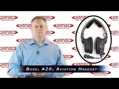 Bose A20 Aviation Headset Review