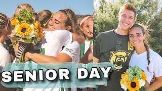 LAST HOME GAME OF MY SOCCER CAREER | senior day...