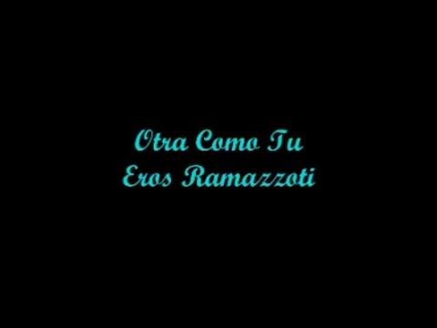 ramazzoti lyric eros