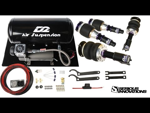 Unboxing Of Accuair And D2 Air Suspension Plus How To Install For