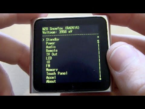 IPod Nano 6G Diagnostics Mode