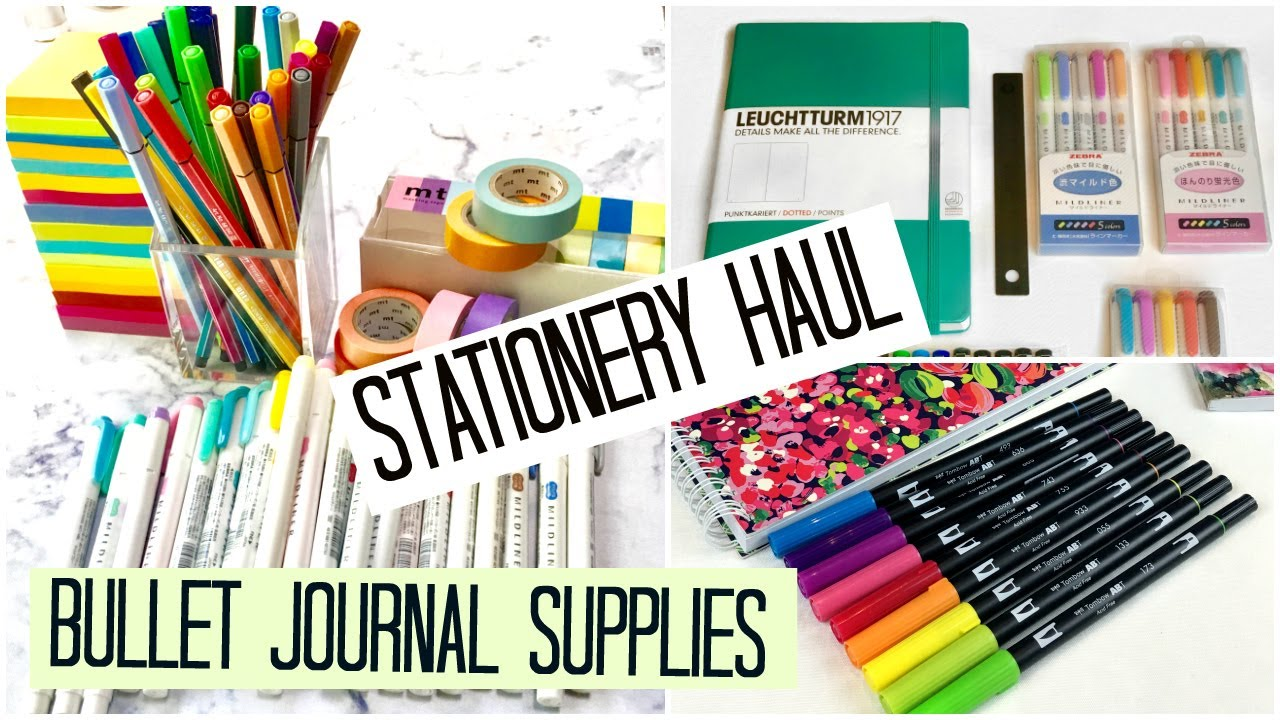 Essential Art Journal Supplies