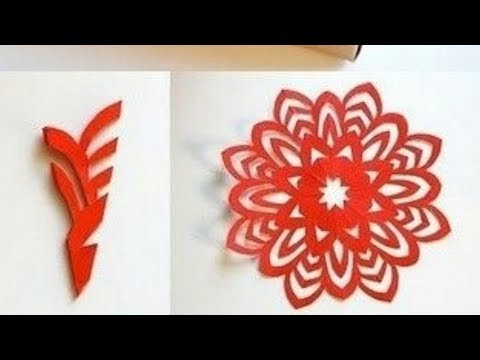 Paper Snowflake Tutorial | Learn How To Make Snowflakes In 5 Minutes