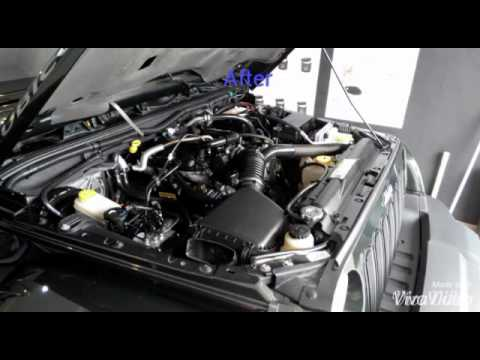 Detailing a Jeep Wrangler JK engine bay by RED