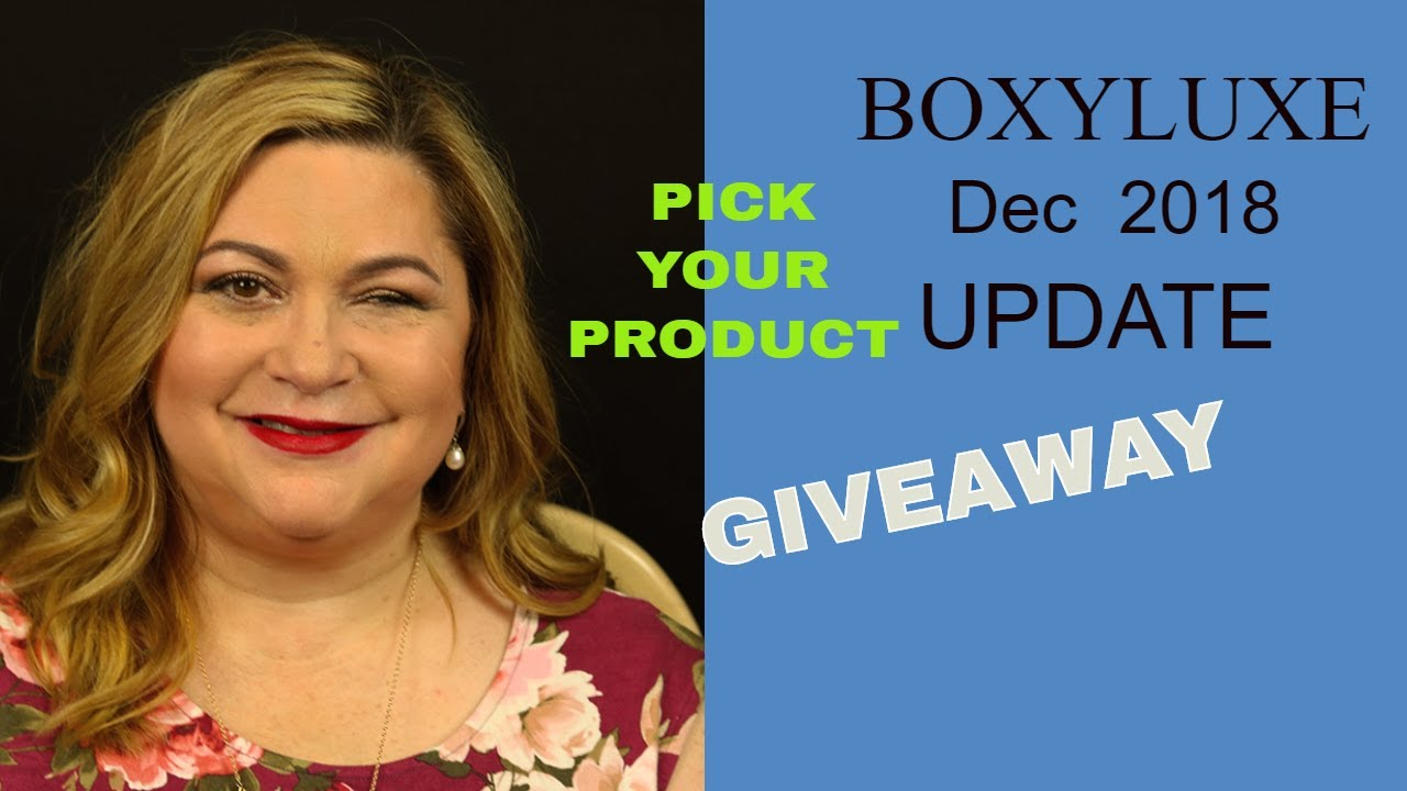 Boxyluxe December 2018 Update - YouTube
