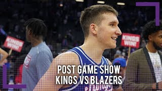 Kings vs Trail Blazers Post Game Show - NBA Season Game 10