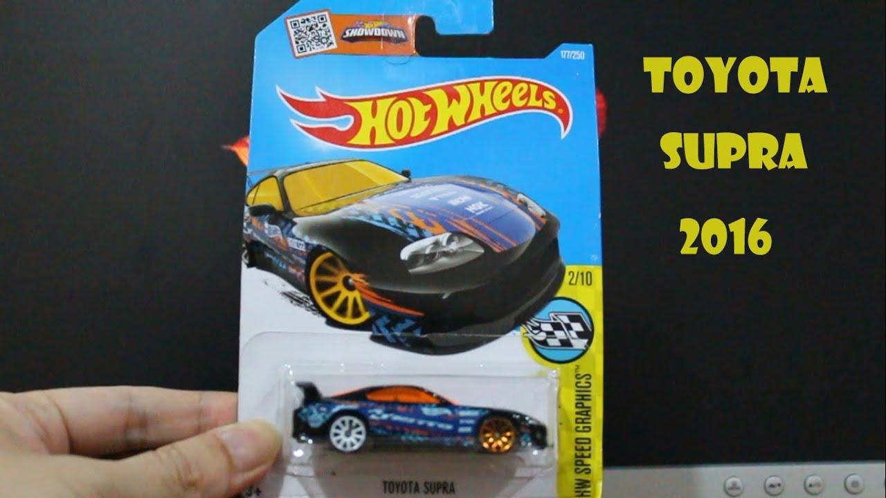 2016 Hot Wheels HW Speed Graphics Toyota Supra
