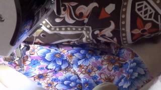 Одеяло за 3 дня. Стежка диагоналей.