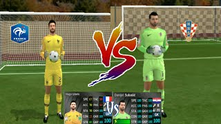 Hugo Lloris VS Danijel Subašić ● Penalty Shootout ● Dream League Soccer 2018