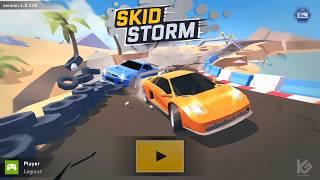 SKID STORM Car Racing Game Play